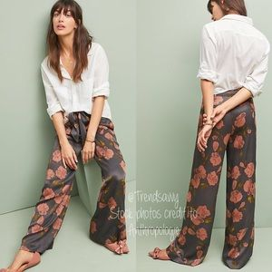 NWT ANTHROPOLOGIE ett:twa Paia Wide-leg Trousers